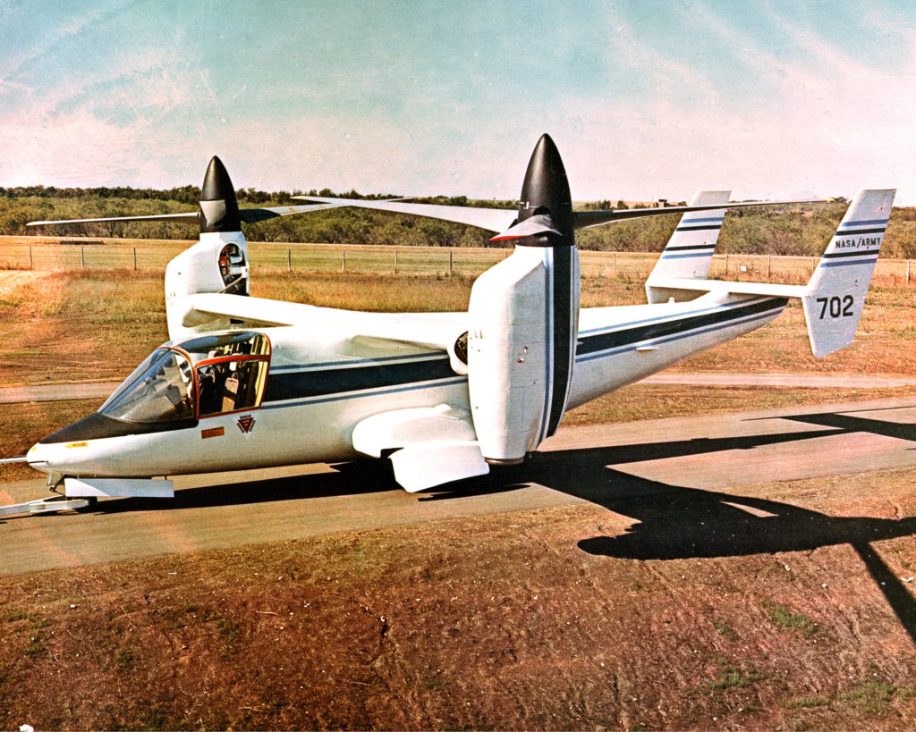 NASA BELL ARMY XV-15 TILTROTOR RESEARCH AIRCRAFT NASA.