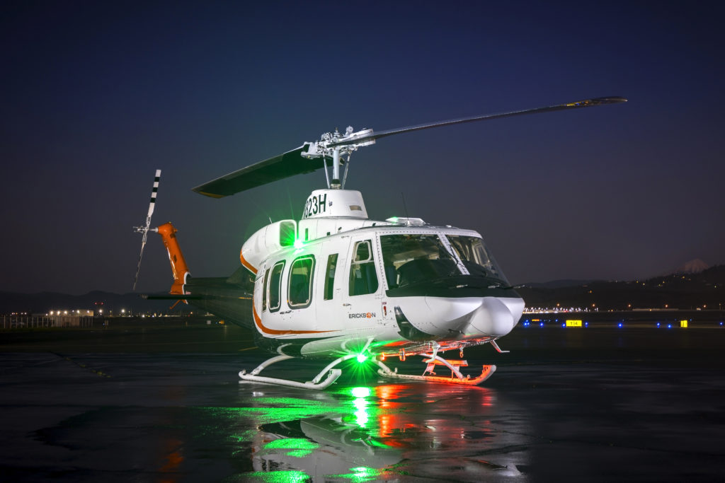 Erickson Inc adquiere los certificados de tipo para los helicópteros Bell 214
