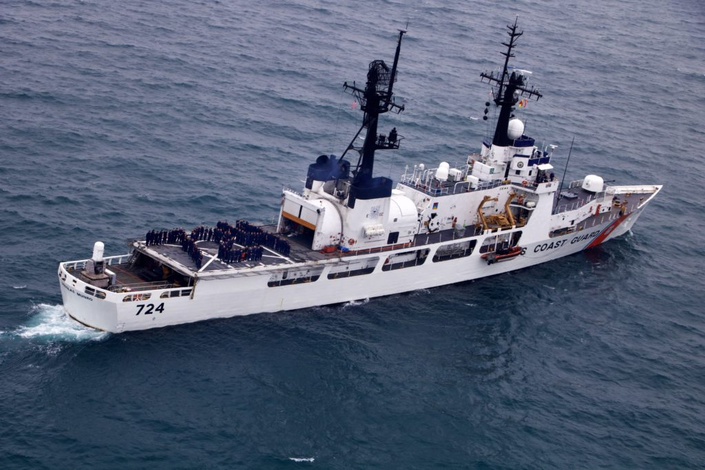 Coast Guard Cutter Munro returns homeport Kodiak