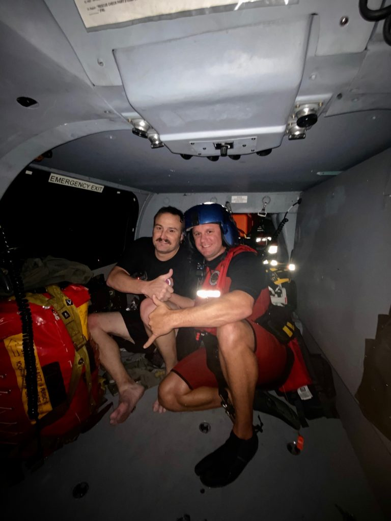 Coast Guard rescue overdue mariner near Dauphin Island, Alabama