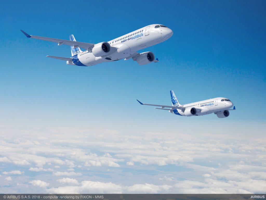 Airbus Canadá transfiere a Satair la gestión de servicios para el A220