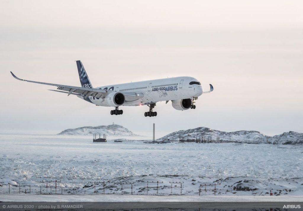 Airbus se une a otras compañías europeas para demostrar la viabilidad del proyecto fello'fly de emisiones reducidas, Airbus A350