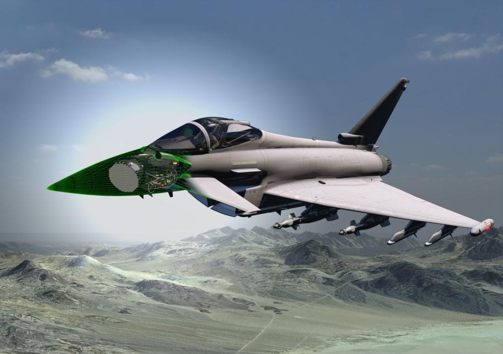 Leonardo y BAE Systems desarrollarán el radar de próxima generación para los Eurofighter Typhoon de la RAF