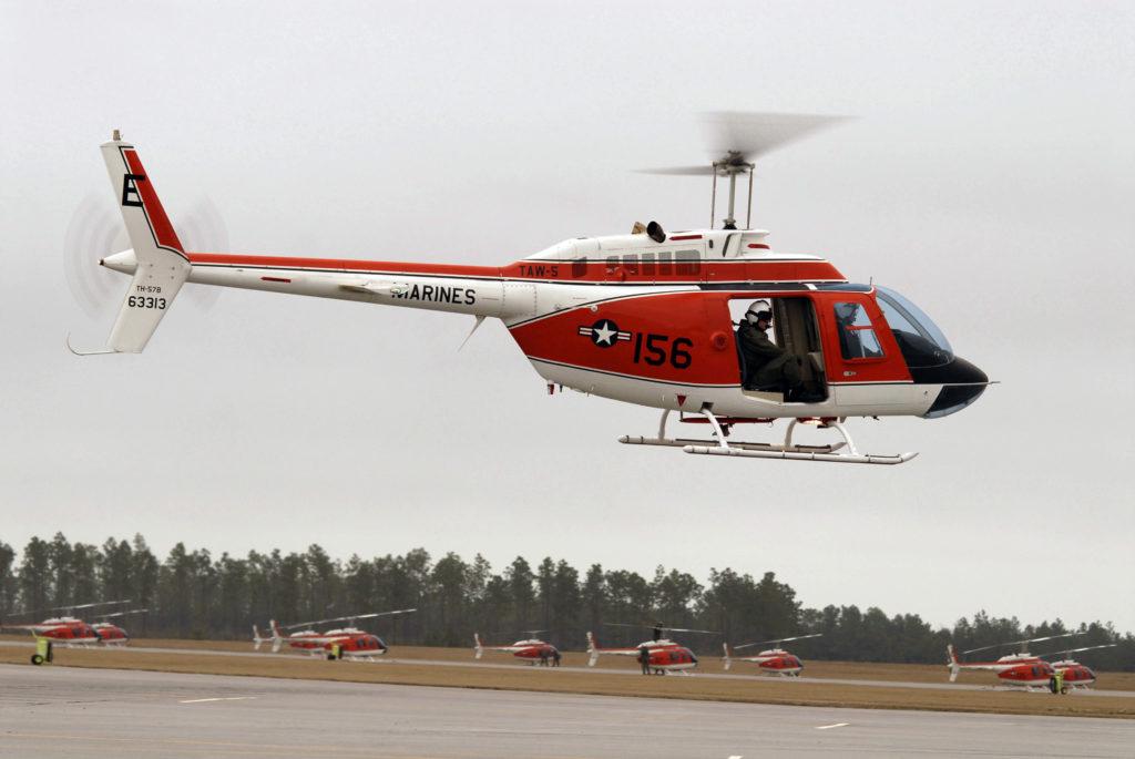 Leonardo TH-73A, el próximo helicóptero de entrenamiento avanzado de la U.S. Navy para sustituir al TH-57 Sea Ranger
