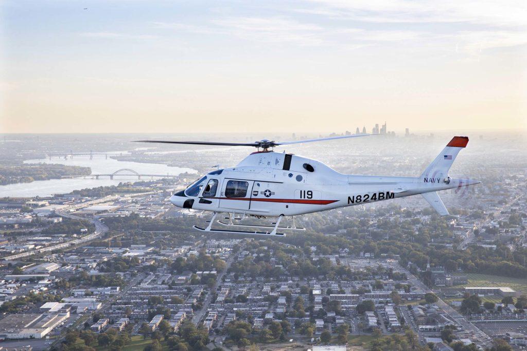 Leonardo TH-73A, el próximo helicóptero de entrenamiento avanzado de la U.S. Navy