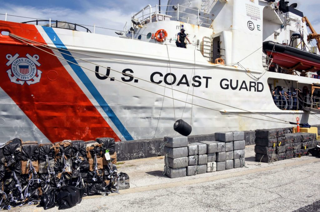 USCGC Dauntless net 59 million dollar in cocaine during 56-day patrol