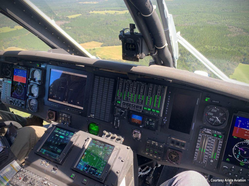 Los HH-60L de Santa Barbara County montarán el RoadRunner EFIS de Astronautics