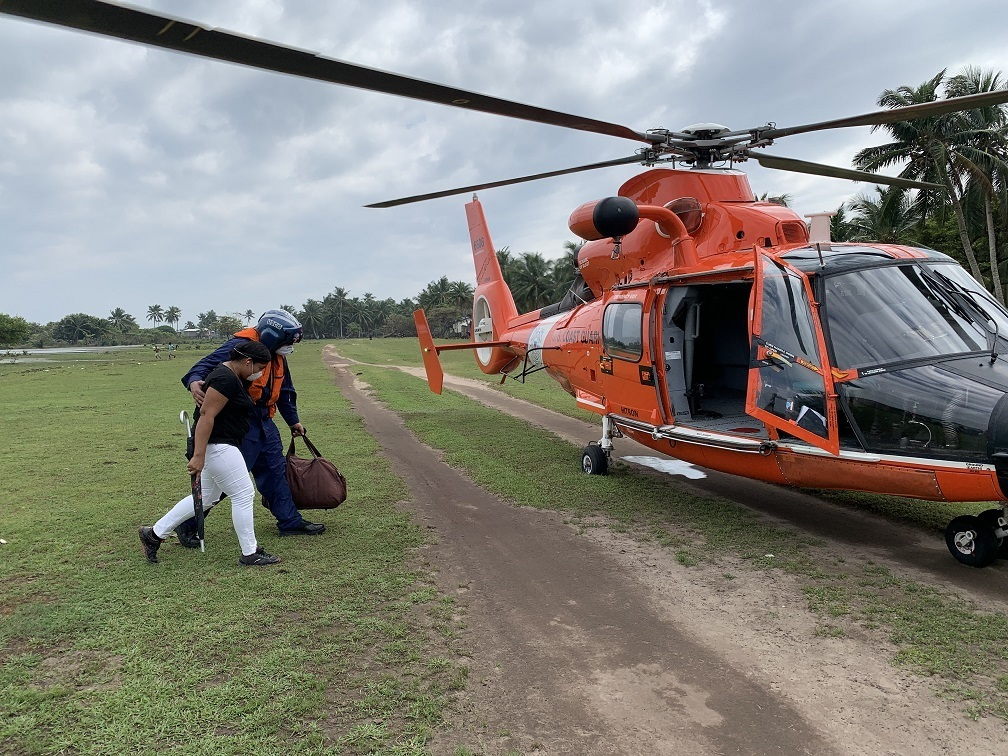 Coast Guard HITRON provides humanitarian assistance to Honduras after Hurricane Eta