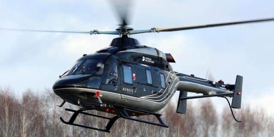 El MOST MKu30 proporciona conexión a internet en vuelo para Russian Helicopters