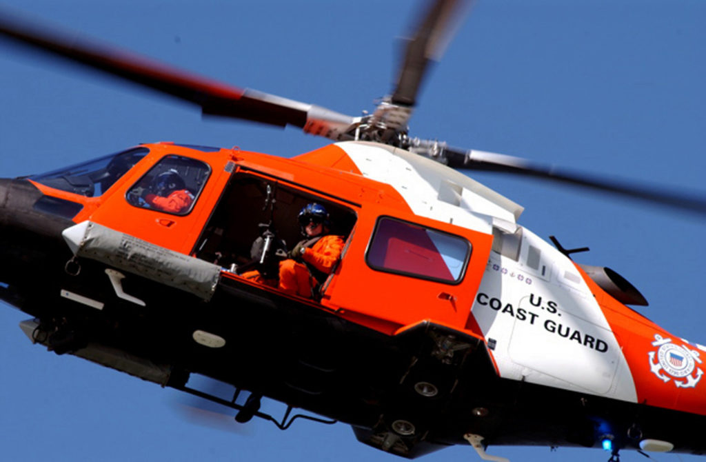 Coast Guard Helicopter Interdiction Tactical Squadron (HITRON) Founding Members MH-68A Mako