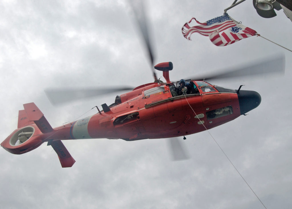 Coast Guard assists disabled boat 56 miles offshore Freeport, Texas