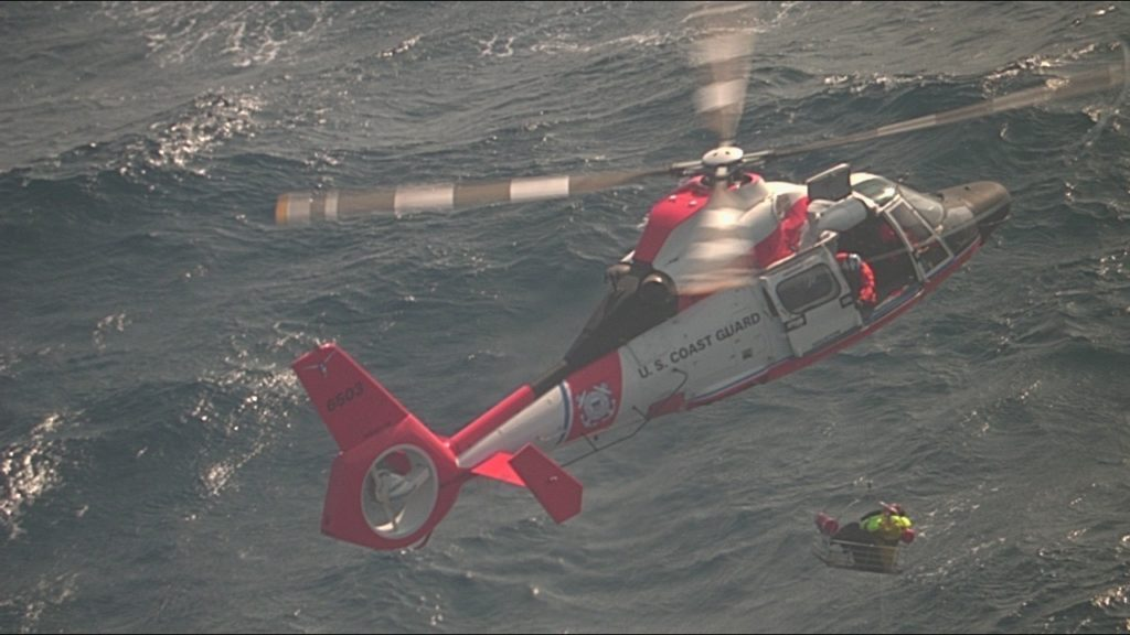 Coast Guard rescue 2 from vessel taking on water in South Padre Island, Texas
