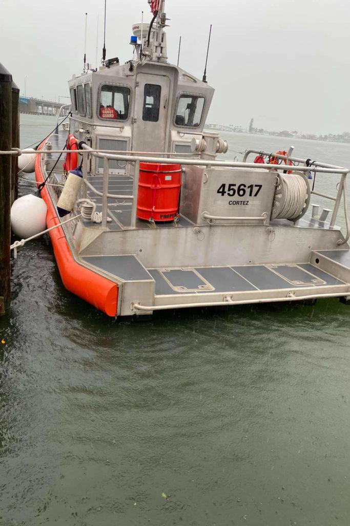 Coast Guard crews rescue three mariners near Anna Maria Island