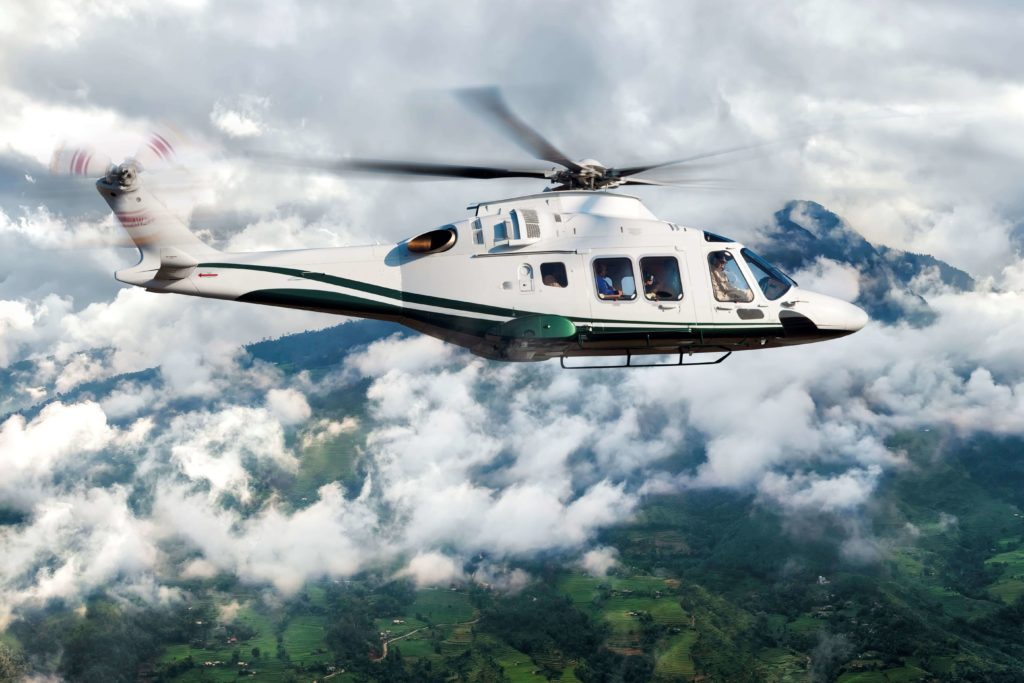 The helicopter Leonardo AW169 enters in VIP and Corporate market in Mexico