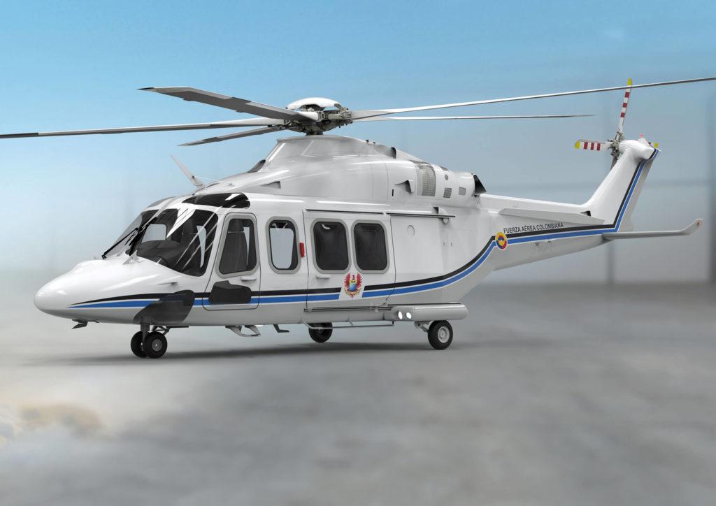 El Leonardo AW139 será el nuevo helicóptero presidencial de Colombia