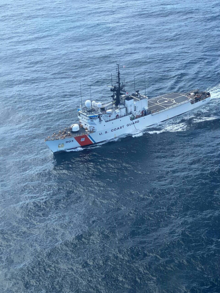Coast Guard Cutter Harriet Lane and HITRON interdicts $40 million in drugs