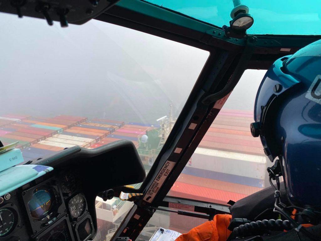 Coast Guard battles weather to rescue man 46 nm off San Luis Obispo