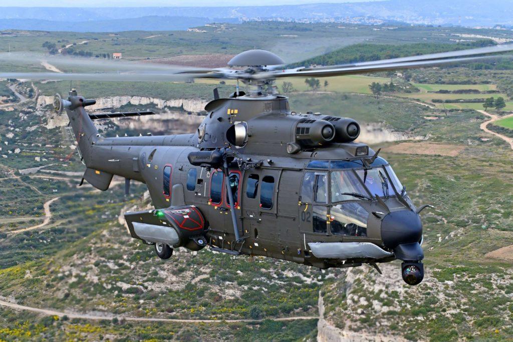 El Ejército de Singapur recibe su primer Airbus Helicopters H225M