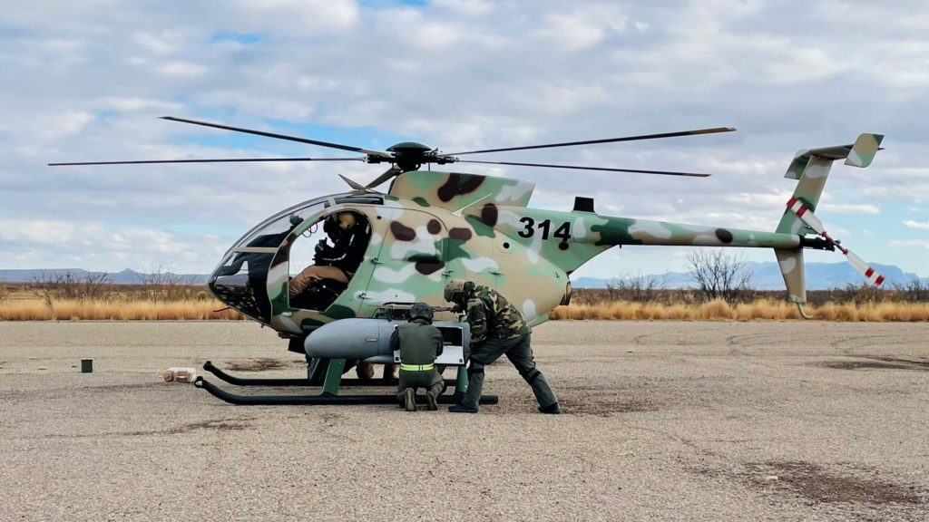 La Fuerza Aérea Libanesa finaliza el primer training para el MD 530F