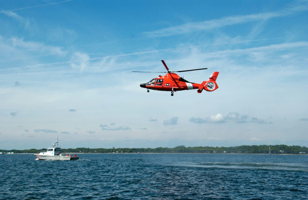 Coast Guard rescue 3 from aground vessel near Fort Morgan