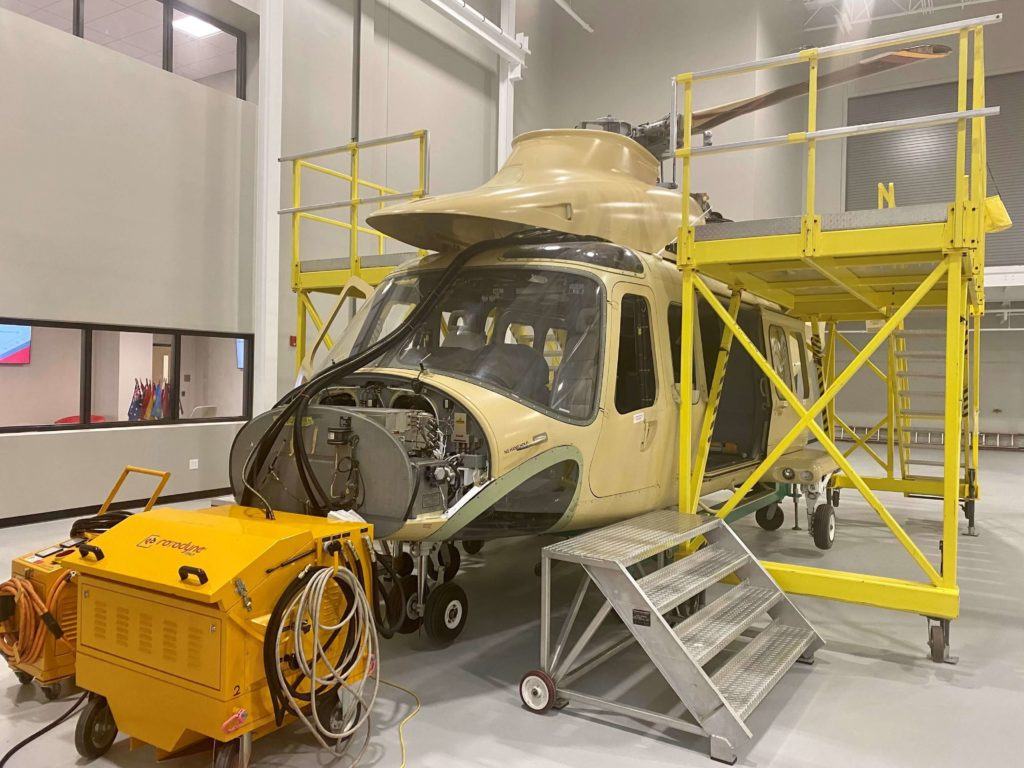 Leonardo opening their Helicopter Training Academy in USA
