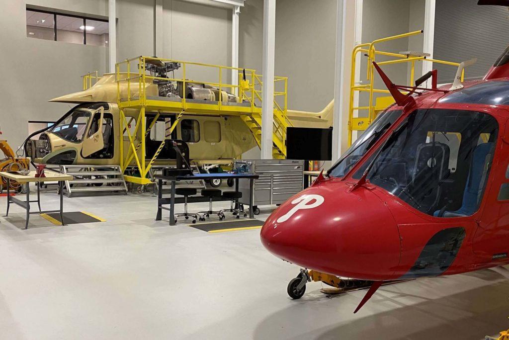 Leonardo Helicopter Training Center en Estados Unidos