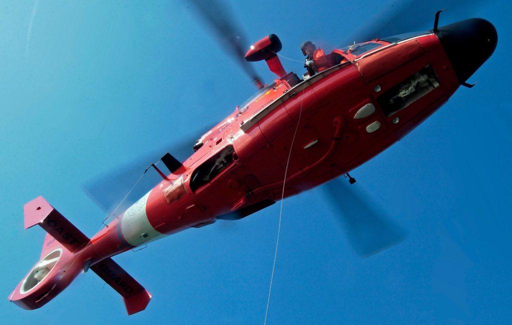 Coast Guard medevac mariner 46 miles offshore Cameron, Louisiana