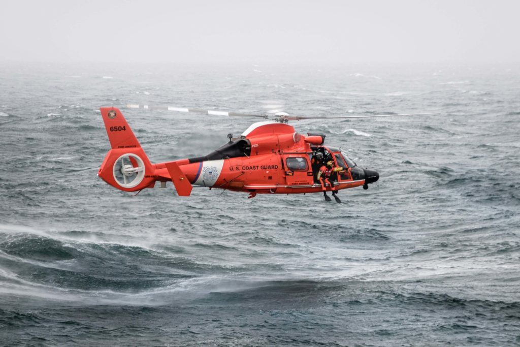 Coast Guard rescue 2 hikers stranded in Olympic National Park, WA