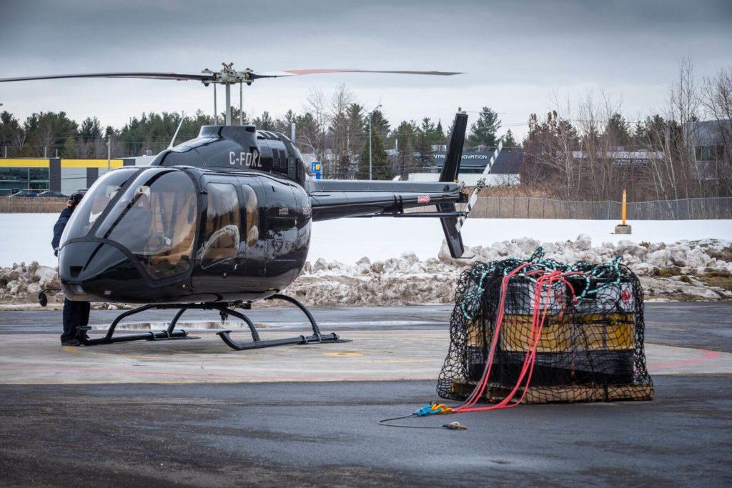 El Bell 505 recibe la certificación de la EASA para 907 kg de carga externa