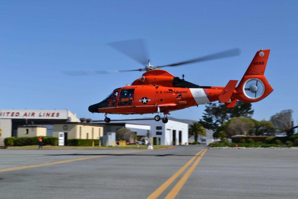 Coast Guard MH-65 aircrew rescue kayaker 70 nm west of Santa Cruz