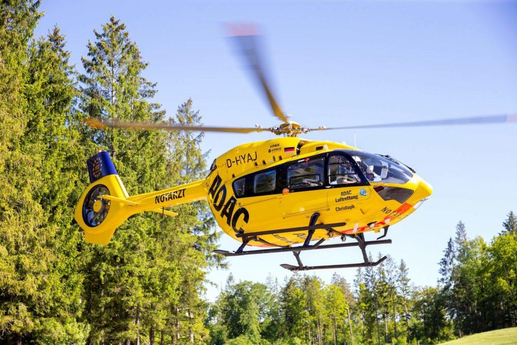 ADAC, Safran, Airbus y Total vuelan un H145 de rescate con combustible SAF