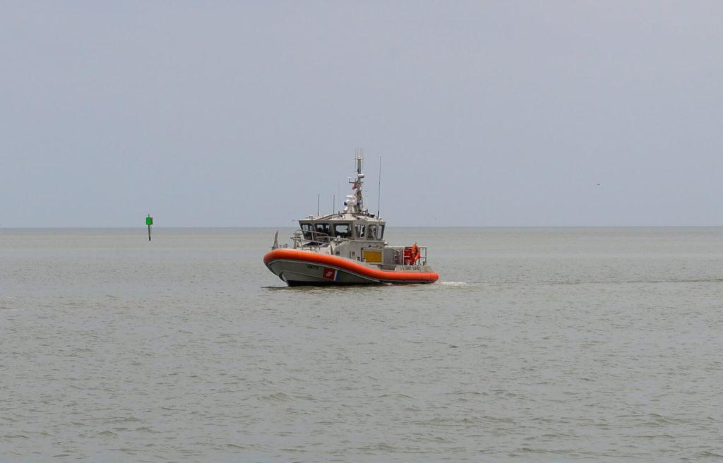 Coast Guard rescue 6 boaters 8 miles offshore Port O'Connor, Texas