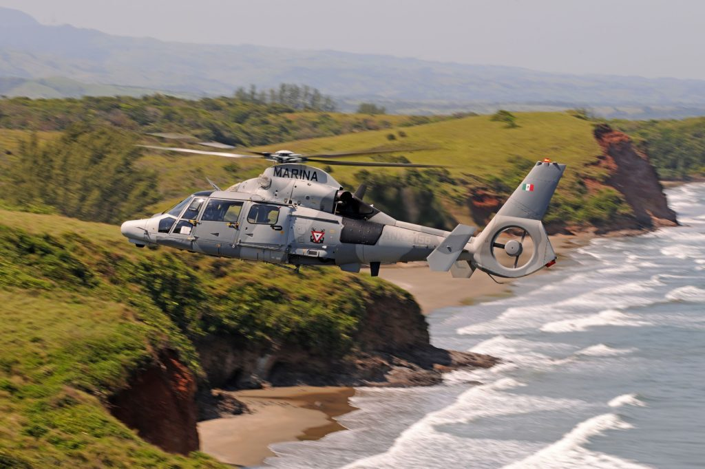 Los AS565 MBe Panther del SEMAR cumplen 5 años al servicio de México
