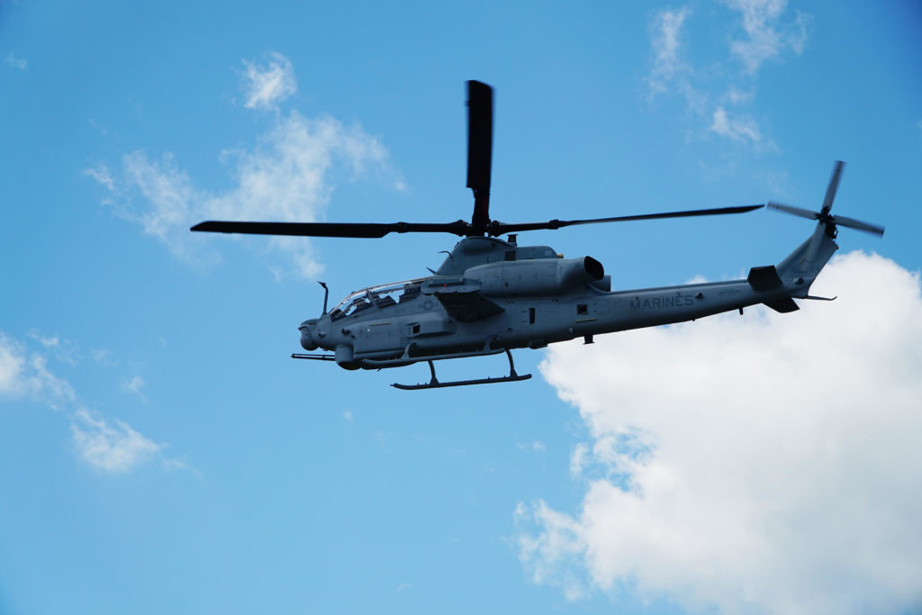 El USMC completa el primer vuelo del AH-1Z Viper con el sistema Link-16
