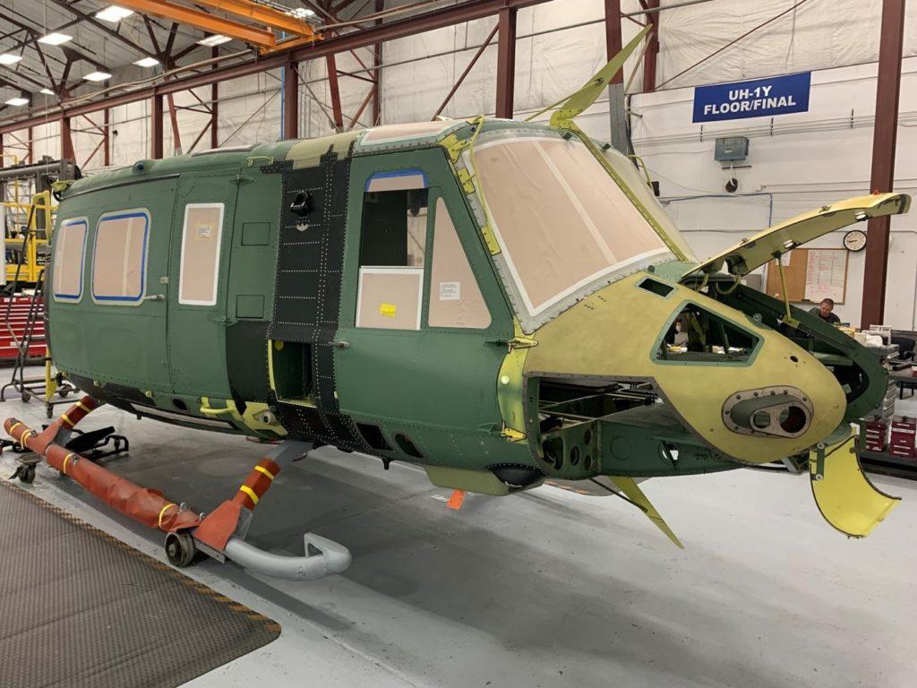 Bell comienza a fabricar el primer UH-1Y Venom para la República Checa