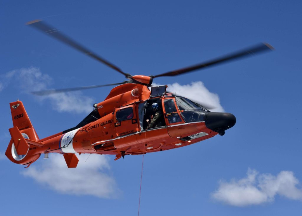 Coast Guard, partners rescue missing mariner off Oahu after 6-day search