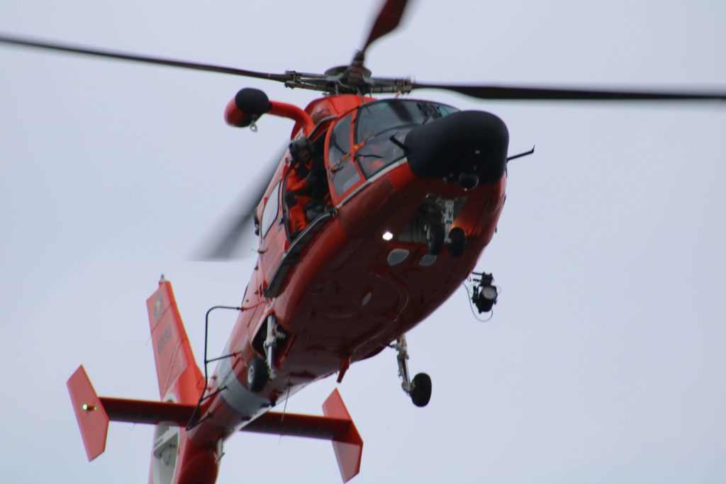 Coast Guard medevac man from cruise ship, New Orleans