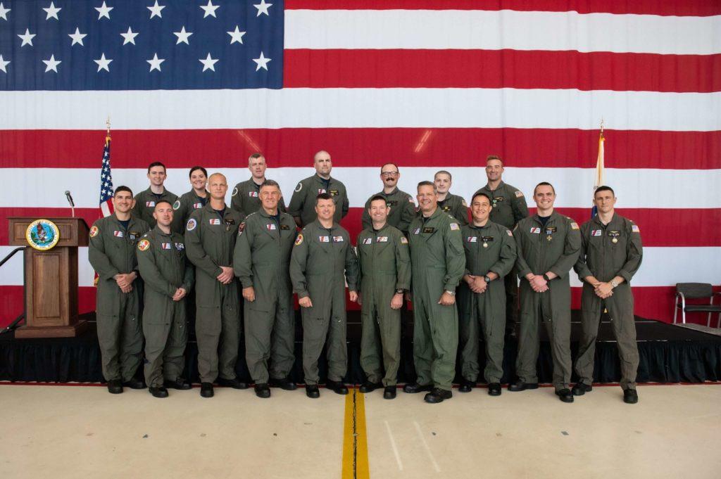 Coast Guard rescue 31 fishermen: the aircrews Awards Ceremony