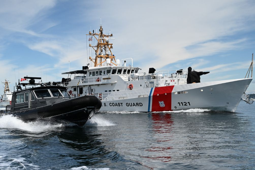 Binational agencies executed maritime law enforcement and security Ops